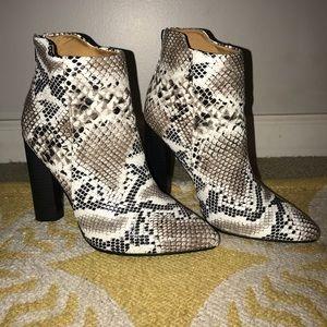 Qupid Snakeskin Boots